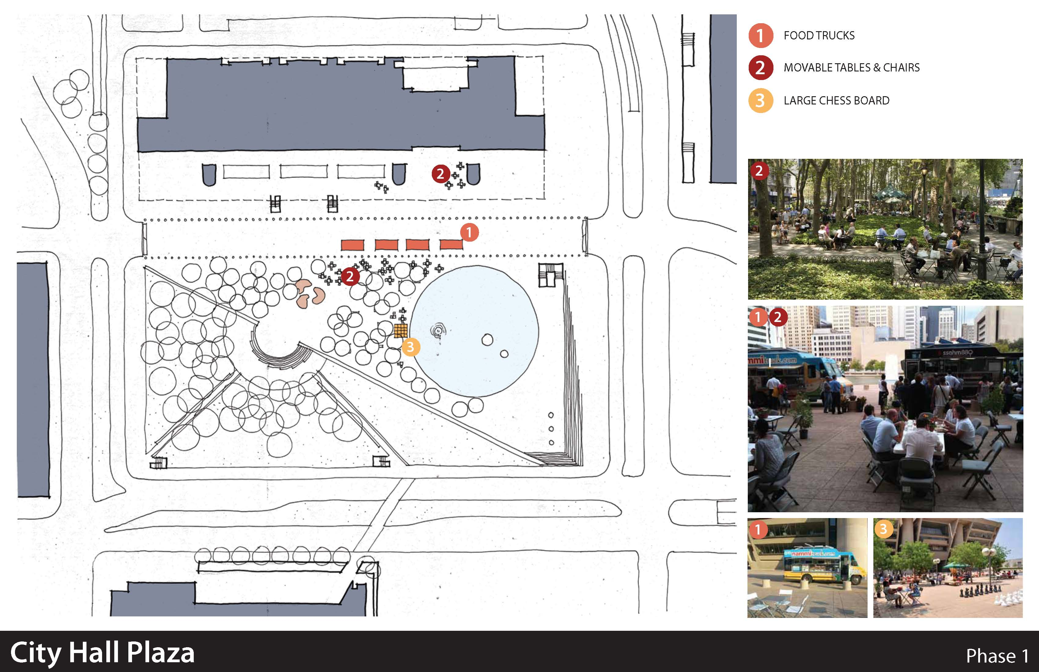 Dallas city hall plaza schemes dreams friends of living plaza phase 1 design aiddatafo Choice Image