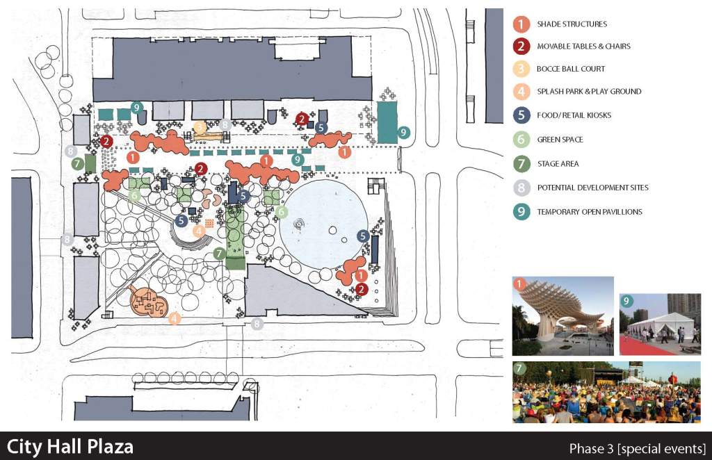 Dallas City Hall Plaza: Schemes & Dreams | Friends of Living Plaza