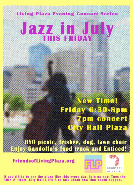 Jazz in July III Poster - smaller